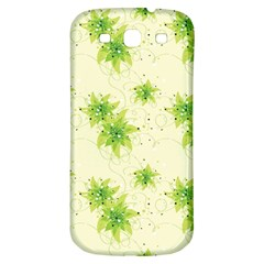 Leaf Green Star Beauty Samsung Galaxy S3 S Iii Classic Hardshell Back Case by Mariart