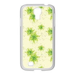 Leaf Green Star Beauty Samsung Galaxy S4 I9500/ I9505 Case (white) by Mariart