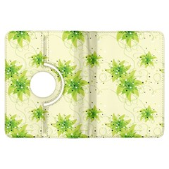 Leaf Green Star Beauty Kindle Fire Hdx Flip 360 Case by Mariart