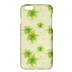 Leaf Green Star Beauty Apple Iphone 6 Plus/6s Plus Hardshell Case by Mariart