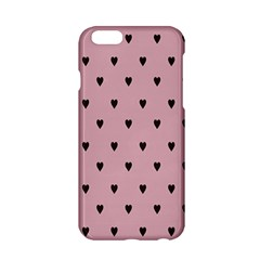 Love Black Pink Valentine Apple Iphone 6/6s Hardshell Case by Mariart