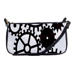Machine Iron Maintenance Shoulder Clutch Bags by Mariart