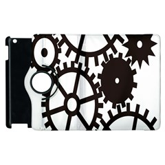 Machine Iron Maintenance Apple Ipad 2 Flip 360 Case by Mariart