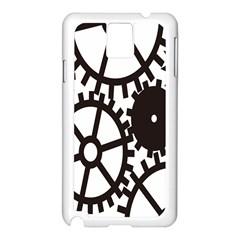 Machine Iron Maintenance Samsung Galaxy Note 3 N9005 Case (white)