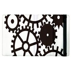 Machine Iron Maintenance Apple Ipad Pro 12 9   Flip Case by Mariart