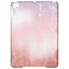 Love Heart Pink Valentine Flower Leaf Apple Ipad Pro 9 7   Hardshell Case by Mariart