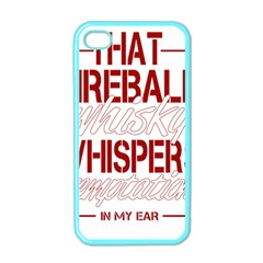Fireball Whiskey Humor  Apple Iphone 4 Case (color) by crcustomgifts