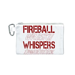 Fireball Whiskey Humor  Canvas Cosmetic Bag (s) by crcustomgifts