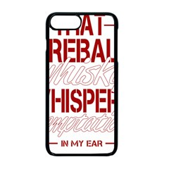 Fireball Whiskey Humor  Apple Iphone 7 Plus Seamless Case (black) by crcustomgifts