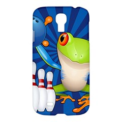 Tree Frog Bowling Samsung Galaxy S4 I9500/i9505 Hardshell Case by crcustomgifts