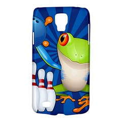 Tree Frog Bowling Galaxy S4 Active by crcustomgifts