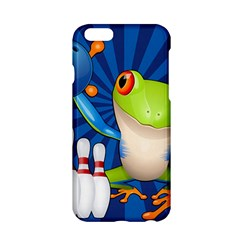 Tree Frog Bowling Apple Iphone 6/6s Hardshell Case by crcustomgifts