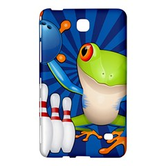 Tree Frog Bowling Samsung Galaxy Tab 4 (8 ) Hardshell Case  by crcustomgifts