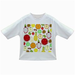 Mango Fruit Pieces Watermelon Dragon Passion Fruit Apple Strawberry Pineapple Melon Infant/toddler T Shirts by Mariart