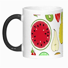 Mango Fruit Pieces Watermelon Dragon Passion Fruit Apple Strawberry Pineapple Melon Morph Mugs by Mariart