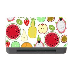 Mango Fruit Pieces Watermelon Dragon Passion Fruit Apple Strawberry Pineapple Melon Memory Card Reader With Cf by Mariart