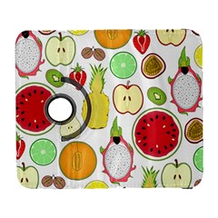 Mango Fruit Pieces Watermelon Dragon Passion Fruit Apple Strawberry Pineapple Melon Galaxy S3 (flip/folio) by Mariart