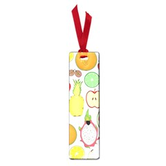 Mango Fruit Pieces Watermelon Dragon Passion Fruit Apple Strawberry Pineapple Melon Small Book Marks by Mariart