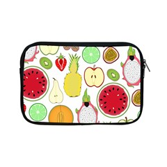 Mango Fruit Pieces Watermelon Dragon Passion Fruit Apple Strawberry Pineapple Melon Apple Ipad Mini Zipper Cases by Mariart