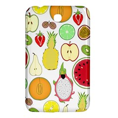 Mango Fruit Pieces Watermelon Dragon Passion Fruit Apple Strawberry Pineapple Melon Samsung Galaxy Tab 3 (7 ) P3200 Hardshell Case  by Mariart