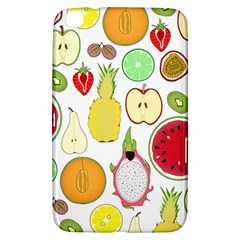 Mango Fruit Pieces Watermelon Dragon Passion Fruit Apple Strawberry Pineapple Melon Samsung Galaxy Tab 3 (8 ) T3100 Hardshell Case  by Mariart