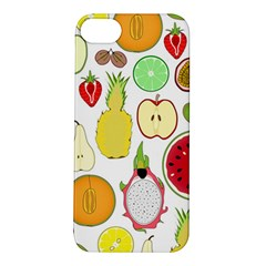 Mango Fruit Pieces Watermelon Dragon Passion Fruit Apple Strawberry Pineapple Melon Apple Iphone 5s/ Se Hardshell Case by Mariart