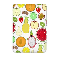 Mango Fruit Pieces Watermelon Dragon Passion Fruit Apple Strawberry Pineapple Melon Samsung Galaxy Tab 2 (10 1 ) P5100 Hardshell Case  by Mariart