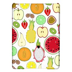 Mango Fruit Pieces Watermelon Dragon Passion Fruit Apple Strawberry Pineapple Melon Ipad Air Hardshell Cases by Mariart
