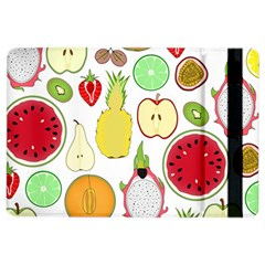 Mango Fruit Pieces Watermelon Dragon Passion Fruit Apple Strawberry Pineapple Melon Ipad Air 2 Flip by Mariart