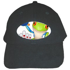 Tree Frog Bowler Black Cap by crcustomgifts
