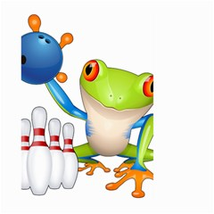 Tree Frog Bowler Large Garden Flag (two Sides) by crcustomgifts