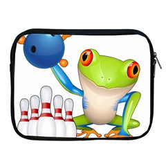 Tree Frog Bowler Apple Ipad 2/3/4 Zipper Cases by crcustomgifts