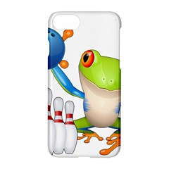 Tree Frog Bowler Apple Iphone 7 Hardshell Case by crcustomgifts