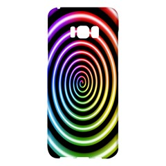 Hypnotic Circle Rainbow Samsung Galaxy S8 Plus Hardshell Case  by Mariart