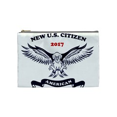 New U S  Citizen Eagle 2017  Cosmetic Bag (medium)  by crcustomgifts