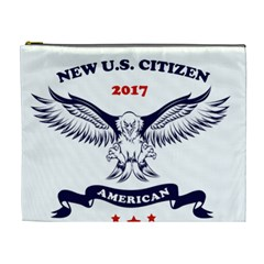 New U S  Citizen Eagle 2017  Cosmetic Bag (xl) by crcustomgifts