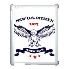 New U S  Citizen Eagle 2017  Apple Ipad 3/4 Case (white) by crcustomgifts