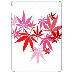 Marijuana Cannabis Rainbow Pink Love Heart Apple Ipad Pro 12 9   Hardshell Case by Mariart