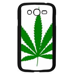 Marijuana Weed Drugs Neon Cannabis Green Leaf Sign Samsung Galaxy Grand Duos I9082 Case (black) by Mariart
