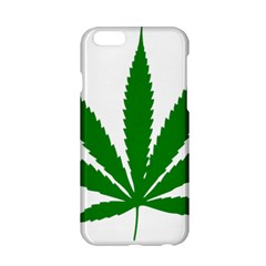 Marijuana Weed Drugs Neon Cannabis Green Leaf Sign Apple Iphone 6/6s Hardshell Case by Mariart