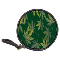 Marijuana Cannabis Rainbow Love Green Yellow Leaf Classic 20 Cd Wallets by Mariart