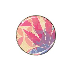 Marijuana Heart Cannabis Rainbow Pink Cloud Hat Clip Ball Marker (4 Pack) by Mariart