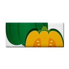 Pumpkin Peppers Green Yellow Cosmetic Storage Cases by Mariart