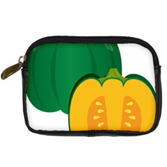 Pumpkin Peppers Green Yellow Digital Camera Cases by Mariart