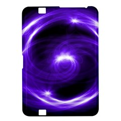 Purple Black Star Neon Light Space Galaxy Kindle Fire Hd 8 9  by Mariart