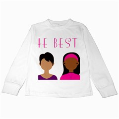 Black Girls Be The Best You Kids Long Sleeve T Shirts by kenique