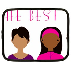 Black Girls Be The Best You Netbook Case (large) by kenique