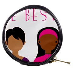 Black Girls Be The Best You Mini Makeup Bags by kenique