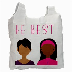 Black Girls Be The Best You Recycle Bag (two Side)  by kenique