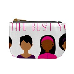 Black Girls Be The Best You Mini Coin Purses by kenique